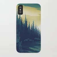 oregon iPhone & iPod Cases featuring Oregon Field by Big Friend