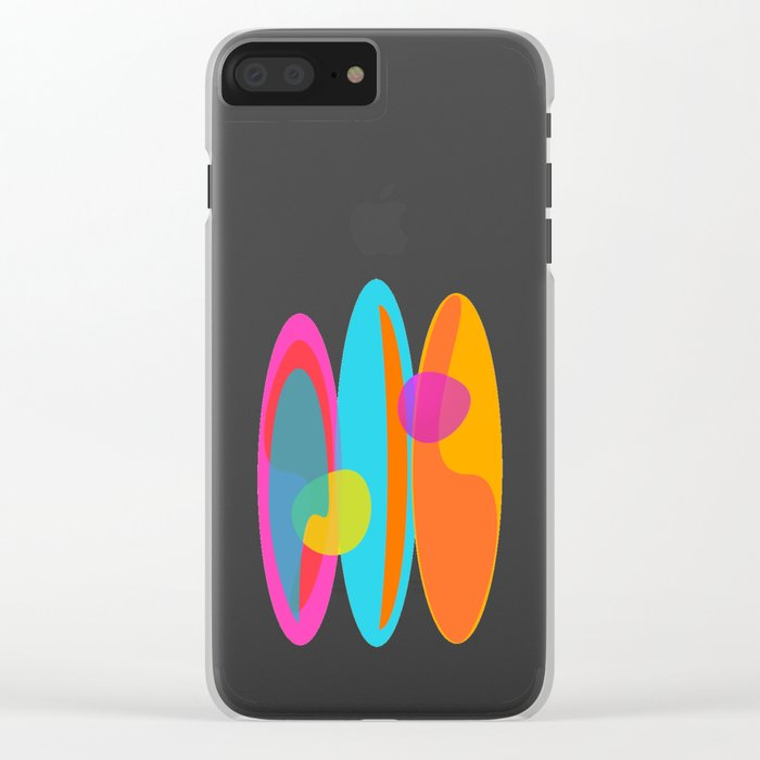 Surf 3 Clear iPhone Case
