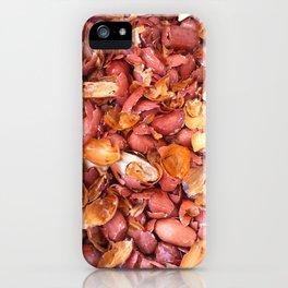 Peanut skins. iPhone Case