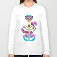 random Long Sleeve T-shirts featuring random by StraySheep