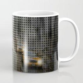 Graphic Art NYC 5th Avenue Traffic V Coffee Mug