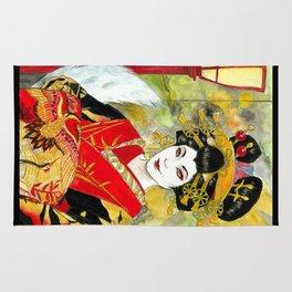 Lady Kitsune Rug