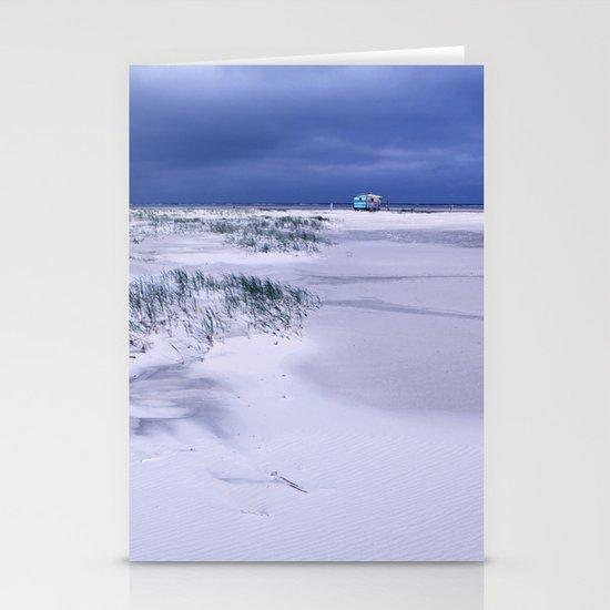 purple sky № 1 Stationery Cards