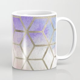 Pixie dust geometric watercolor Coffee Mug