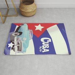 Cuba by Air Rug