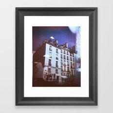 Paris Holga, Le Marais Framed Art Print