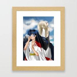 [SessKag] Breeze Framed Art Print
