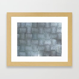 Aluminum Textured Framed Art Print