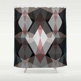 Rhombus Pattern Shower Curtain
