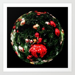 A World of Christmas Art Print