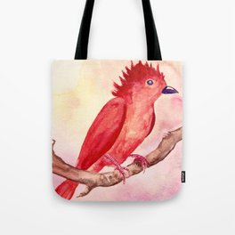 Punk Bird Tote Bag
