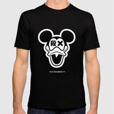 Mickey Duck Mens Fitted Tee Black MEDIUM
