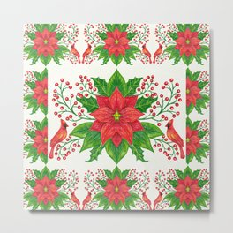 Christmas pattern. Metal Print