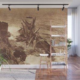 Shipwreck Wall Mural
