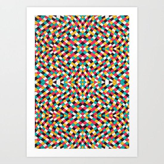 Retrograde Art Print