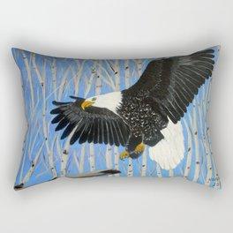Bald Eagle-3 Rectangular Pillow