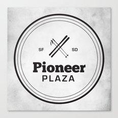 Pioneer Plaza Canvas Print