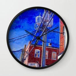 Peep, C-ville, VA Wall Clock