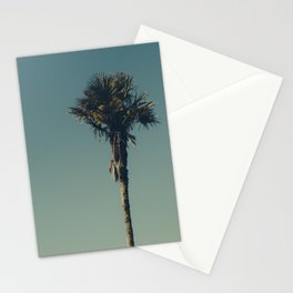 Vintage Film style Palm tree Stationery Cards