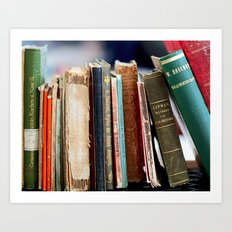 Books from Amsterdam Art Print