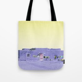 Moroccan Dar in Purple Tote Bag