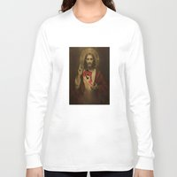 christ Long Sleeve T-shirts featuring Christ Air by Preston Lee Design