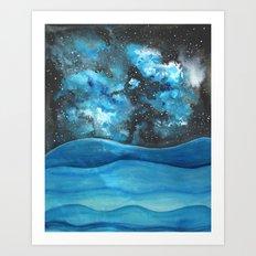 Beautiful Galaxy Art Print
