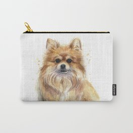 Pomeranian Dog Pom Carry-All Pouch