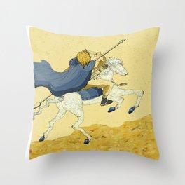 Legend of Nebula No.1 Throw Pillow