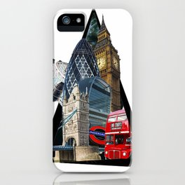 London UK Symbol ArtWork Cities iPhone Case