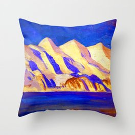 Rockwell Kent Alaska Impression Throw Pillow