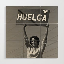 Chicana Activist Hall of Fame Wood Wall Art