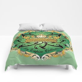 My Empire Collection Summer Set mint green Crown Comforters