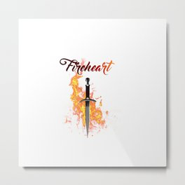 """Fireheart"" ToG-inspired Art Print Metal Print"