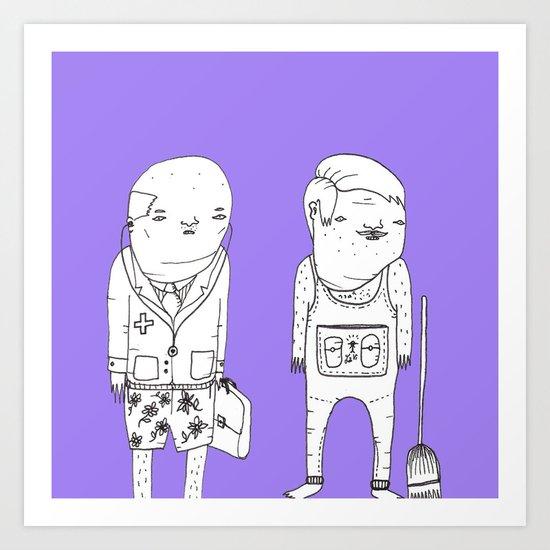 Characters 7 - Jebba Art Print