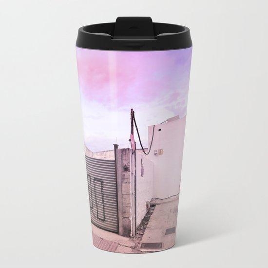 Gas Station Metal Travel Mug