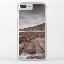 South Wales Heritage coast Clear iPhone Case