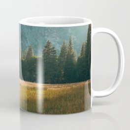 Meadow Sunset in Yosemite Coffee Mug