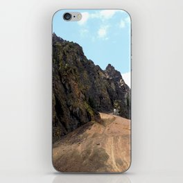Rocky Crags above the Sunnyside Mill at Eureka iPhone Skin