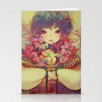 ladybug Stationery Cards featuring ladybug by kiDChan