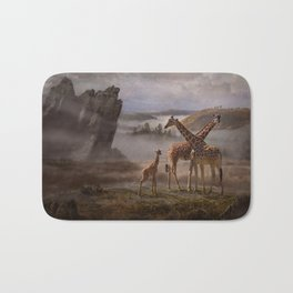 The Edge of the Earth Bath Mat