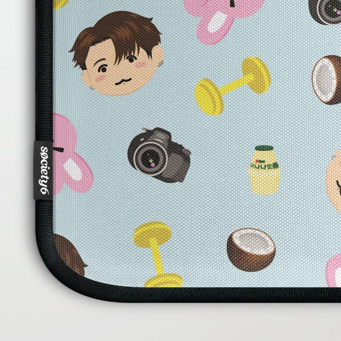 BTS Jungkook Emojis Laptop Sleeve