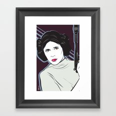 Princess to the Stars Framed Art Print