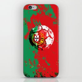 football Portugal  iPhone Skin
