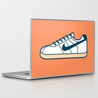nike Laptop & iPad Skins featuring #55 Nike Cortez by Brownjames Prints