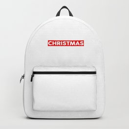 Do Not Open Until Christmas Funny Christmas Gift Backpack