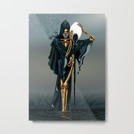 Revenge of Aquarius Metal Print
