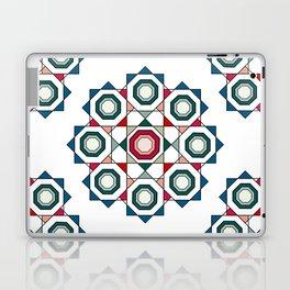 Tile mandala Laptop & iPad Skin