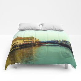 Strasbourg canal Comforters