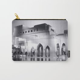 Sultanate Of Oman - Royal Opera House (Black & White) Carry-All Pouch